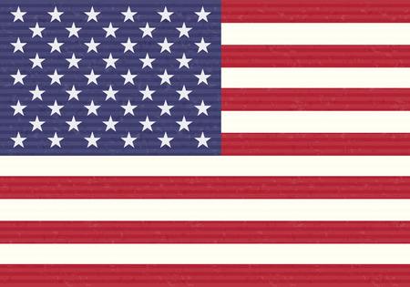 bandera estados unidos: EE.UU. Bandera  Vectores