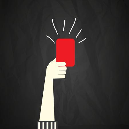 赤いカード