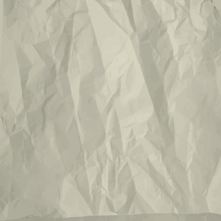 Crumpled foglio di carta di sfondo
