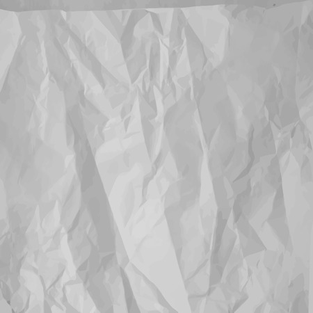 Realistic crumpled paper texture