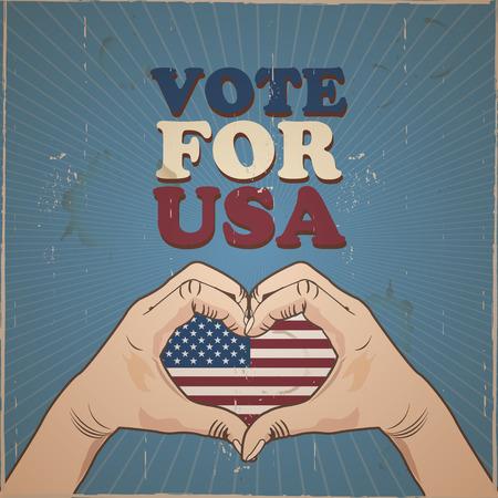 renuncia: Vote por EE.UU. elecciones presidenciales