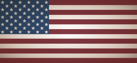 american flag background: Flat American Flag Background