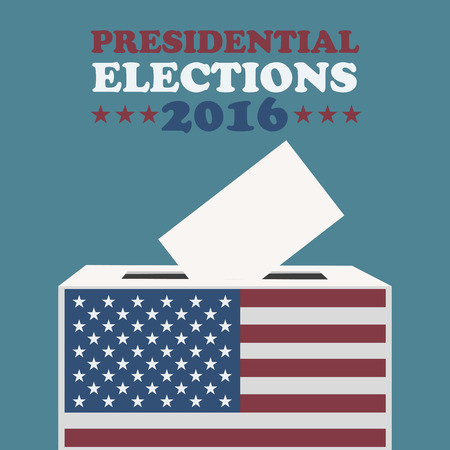 presidential: Usa 2016 presidential elections Illustration
