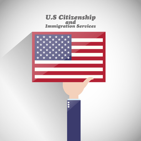 us state flag: Us citizenship and immigration services