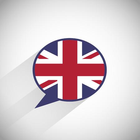 speak english: Speak English Speech Bubble