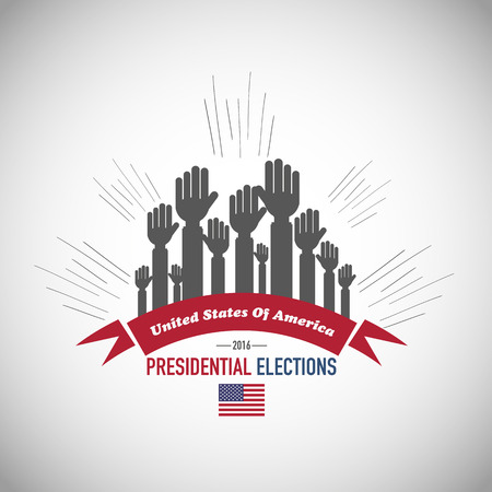 2016 Us presidential elections Vector