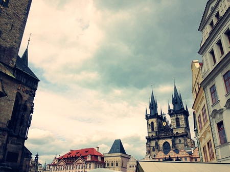 old town square: Prague Old Town Square