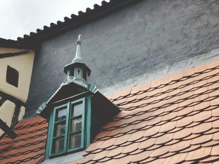 mediaeval: Roof of Prague Close up