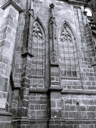 vitus: Detail of Saint Vitus Cathedral in Prague