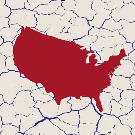 dryness: Usa Map