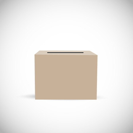 to decide: Empty Ballot Box