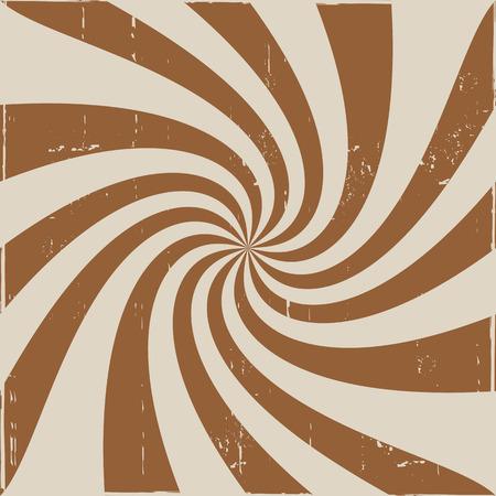 cremoso: Brown creamy whirl pattern Ilustra��o