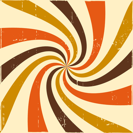 swirl: Abstract swirl retro background Illustration