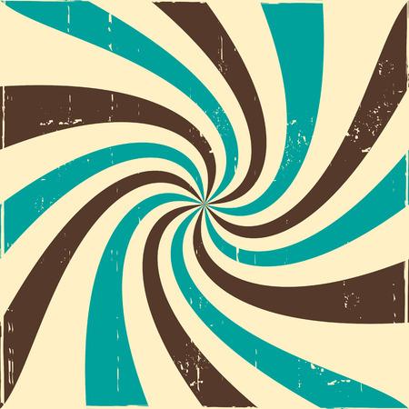 twisted: Twisted rays vintage pattern