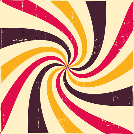 twisted: Twisted rays vector background