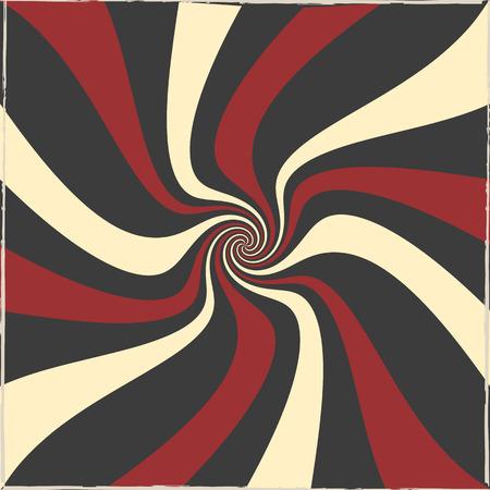 swirl: Swirl tricolor retro background