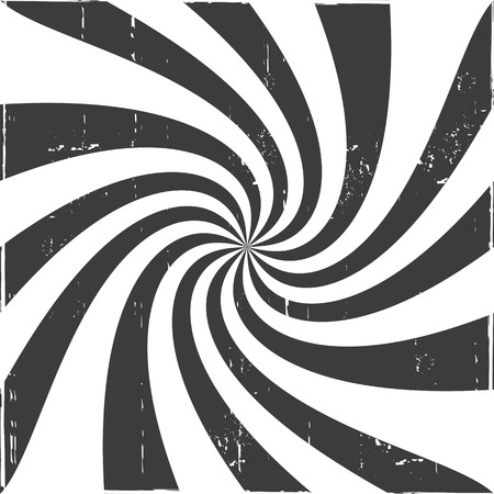 twisted: Black and White Optical Illusion