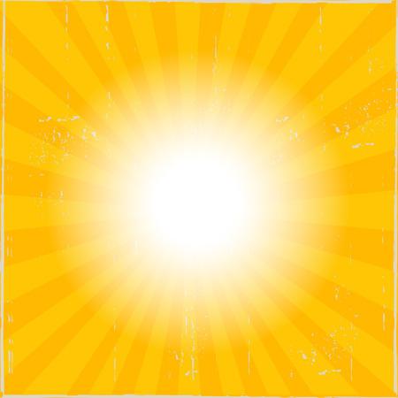 Sun Sunburst Rays Texture Background Ilustração