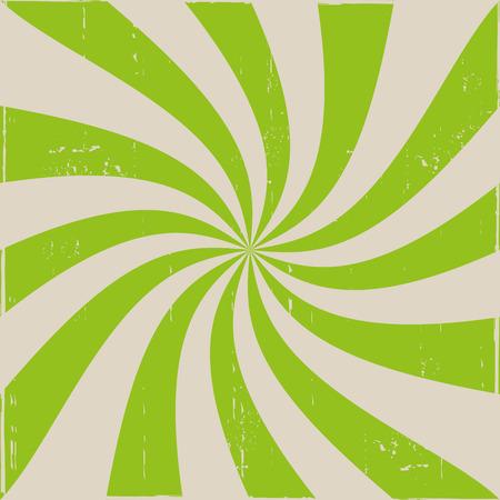 hypnotise: Green Spiral Background Illustration
