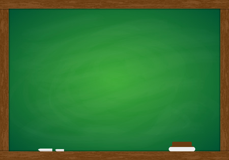 Green Blackboard Frame