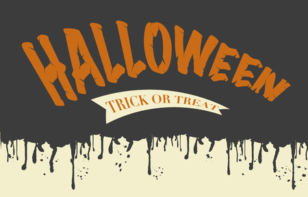Halloween Bloody Text Background