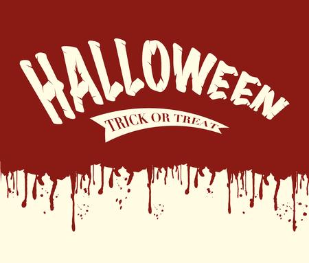 Halloween vector illustration background  イラスト・ベクター素材