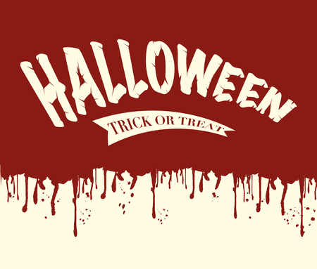 Halloween vector illustration background Ilustração