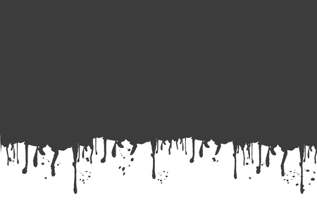 Black blood splatter copy space
