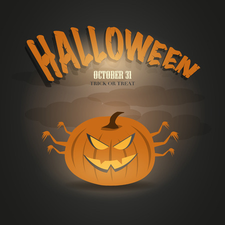 Halloween Party Night  イラスト・ベクター素材