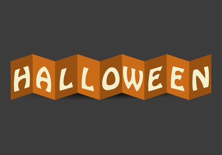 Halloween Card Vector  イラスト・ベクター素材