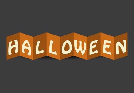 Halloween Card Vector Ilustrace