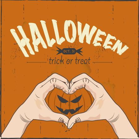 i love halloween Ilustrace