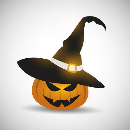Happy Halloween Lantern Ilustrace