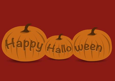 Happy Halloween Pumpkins  イラスト・ベクター素材