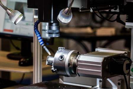 Automated laser system for laser processing - welding, cutting in automatic and manual mode, products made of stainless, ferrous, structural steels Banque d'images