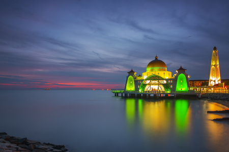 Floating Mosque of Malacca Straight Mosque