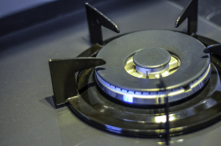 Gas Stove in close up