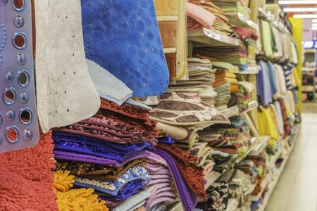 matress section at a mall / supermarket Standard-Bild