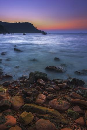 Red Gravy Beach at Fishermen Village During Sunset / Sunrise