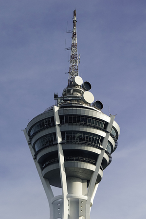 Alor Star Tower is situated in Kedah, Malaysia. The tallest building in the state. Standard-Bild