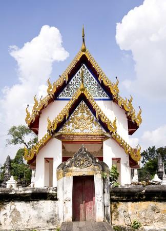 Thai Temple Church Stock Photo - 8145184