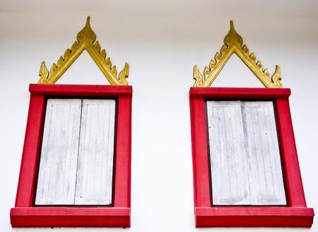 red window Stock Photo - 8250300