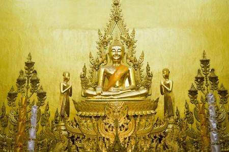 Thai Buddha statue in the church Stock Photo - 8250328