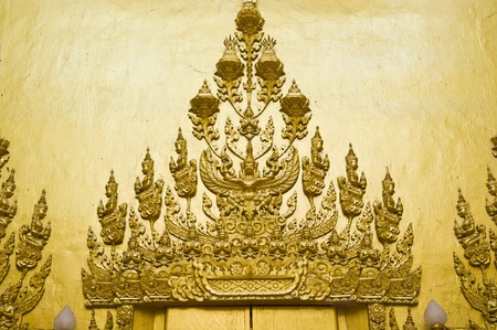 Thai Buddha statue in the church Stock Photo - 8250330