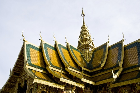 church wat thai lanna style photo