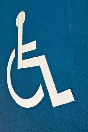 Disabled parking photo
