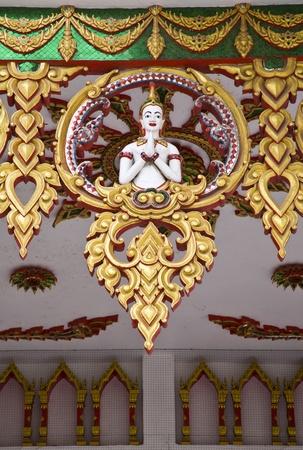 thai angel statue photo