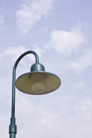 light pole photo