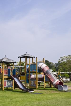 playgrounds in garden photo