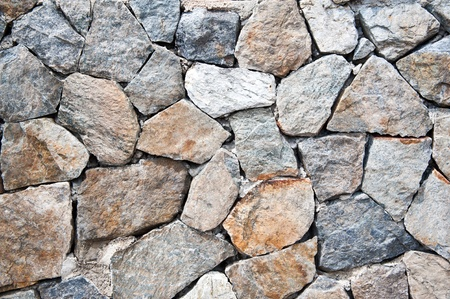 backgrounds of stone wall photo